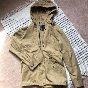 Jackets & Blazers - Tan spring coat